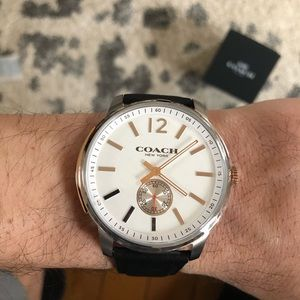 *Rare* and limited Men's Coach watch 47mm